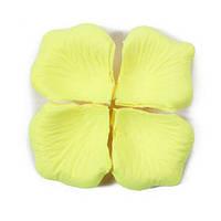 Лепестки роз 1000 шт, желтый цвет, арт. SRP-027
