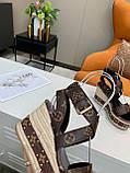 Босоножки Луи Витон кожаная реплика, фото 8