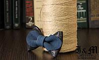 Кожаная галстук-бабочка I&M (010843)
