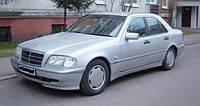Ветровики боковых окон, дефлекторы на Мерседес 202 / Mercedes Benz C-Class Sd (W202) 1993-2000 год