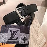 Босоніжки Луї Вітон на платформі шкіряна репліка, фото 5