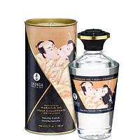 Разогревающее съедобное масло Shunga APHRODISIAC WARMING OIL - Vanilla Fetish Ванильный фетиш (100 мл) Шунга. Массажные масла и кремы