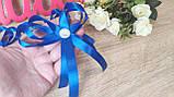 Браслет бутоньерка для гостей. Цвет синий., фото 2