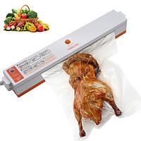 Вакуумный упаковщик для продуктов Вакууматор для еды Freshpack Pro + Пакеты в подарок