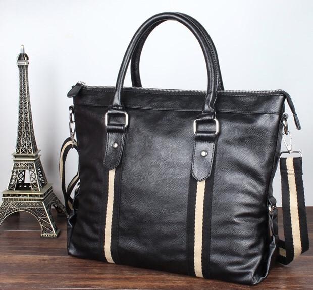 Мужская кожаная сумка. Модель 61273