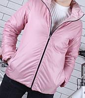 Детская куртка  ветровка двухсторонняя оптом 134-164, фото 1