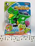 Пістолет з мильними бульбашками Динозавр механічний, фото 2