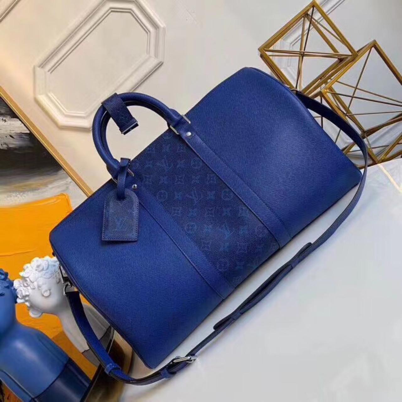 Дорожня сумка Луї Вітон Keepall 45, шкіряна репліка
