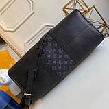Дорожня сумка Луї Вітон Keepall 45, шкіряна репліка, фото 2