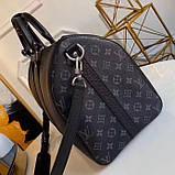 Дорожня сумка Луї Вітон Keepall 45, шкіряна репліка, фото 5