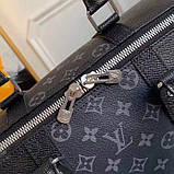 Дорожня сумка Луї Вітон Keepall 45, шкіряна репліка, фото 9
