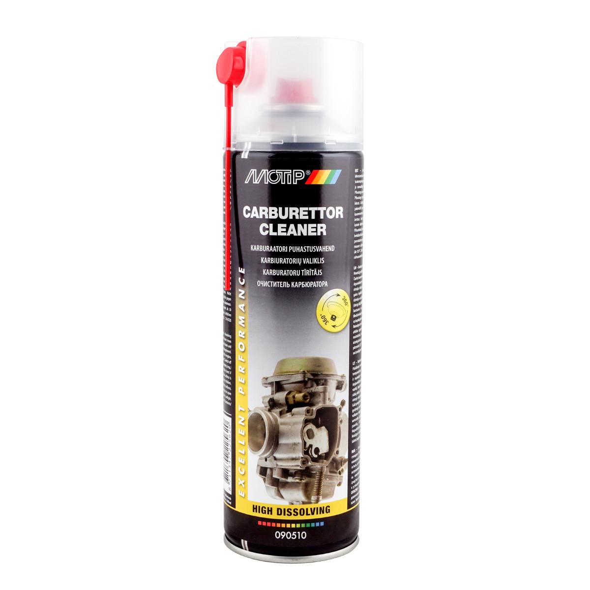 """Очиститель карбюратора """"Carburettor Cleaner"""" Motip 500 мл"""