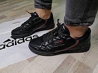 Женские кроссовки чёрные в стиле Adidas