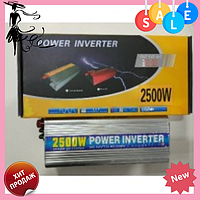 Преобразователь напряжения Power Inverter 2500W c 12V на 220V | Инвертор, фото 1