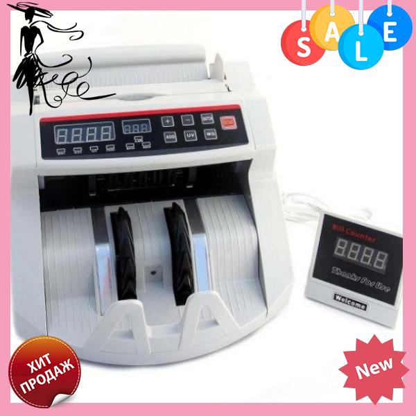 Счетная машинка с детектором валют 2108 | Машинка для счета денег