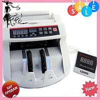 Счетная машинка с детектором валют 2108 | Машинка для счета денег, фото 1