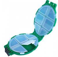 """Коробочка 2х сторонняя для хранения снастей """"Черепашка"""", фото 1"""