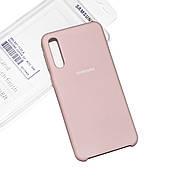 Silicone Case Premium на Samsung A30s Sand Pink