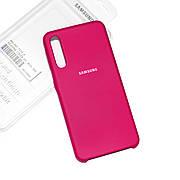 Silicone Case Premium на Samsung A30s Rose