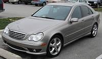 Ветровики боковых окон, дефлекторы на Мерседес 203 / Mercedes Benz C-Class Sd (W203) 2000-2006 год