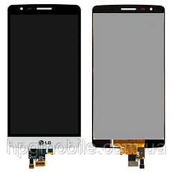 Дисплей для LG Optimus G3s D724, модуль в сборе (экран и сенсор), белый, оригинал