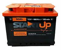 Аккумулятор  StartUp(Веста) 60Ah,R, EN 480,автомобильный . Работаем с НДС