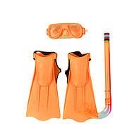 Набор для плавания детский Intex M0025 (маска, трубка, ласты)