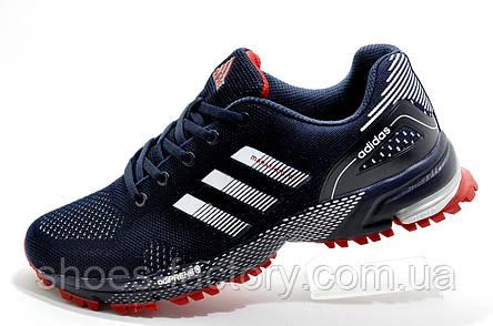 Беговые кроссовки в стиле Adidas Marathon TR 2020, Dark Blue, фото 2