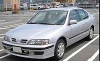Ветровики боковых окон, дефлекторы на Ниссан Примера седан и лифтбек / Nissan Primera P11 4d/5d 1996-2002 год