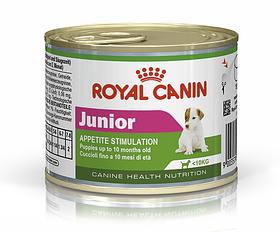 Royal Canin JUNIOR WET 0,195 кг - консерва для цуценят дрібних порід
