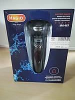 Електробритва MAGIO MG-687, 3 бриючі елем., сухе/вологе гоління, вис.тример