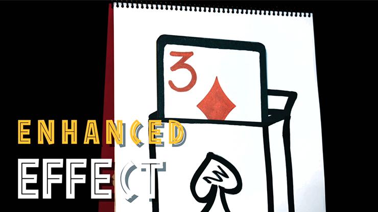 Реквизит для фокусов   Cardiographic Recall (Card) by Martin Lewis, XaPkat and Bond Lee - Trick