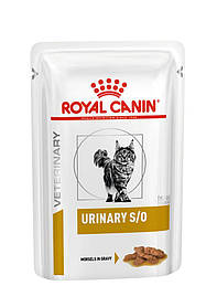 Royal Canin URINARY S/O CAT pouches (шматочки у соусі) 0,85 кг