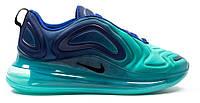 """Женские Кроссовки Nike Air Max 720 Sea Forest """"Blue Light Blue"""" - """"Синие Голубые"""" (Копия ААА+)"""