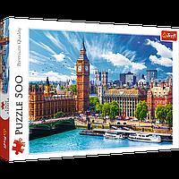 """Пазл Trefl """"Солнечный день в Лондоне"""" 500 элементов, фото 1"""