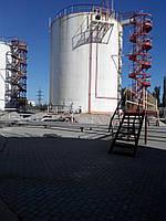 Изготовление и монтаж стальных конструкций  резервуарных паков для нефтепродуктов или растительных масел произ