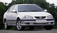 Ветровики боковых окон, дефлекторы на Тойота Авенсис седан и лифтбэк / Toyota Avensis 4d/5d 1997-2003 год