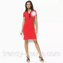 У стилі Ральф жіноче плаття поло 100% бавовна