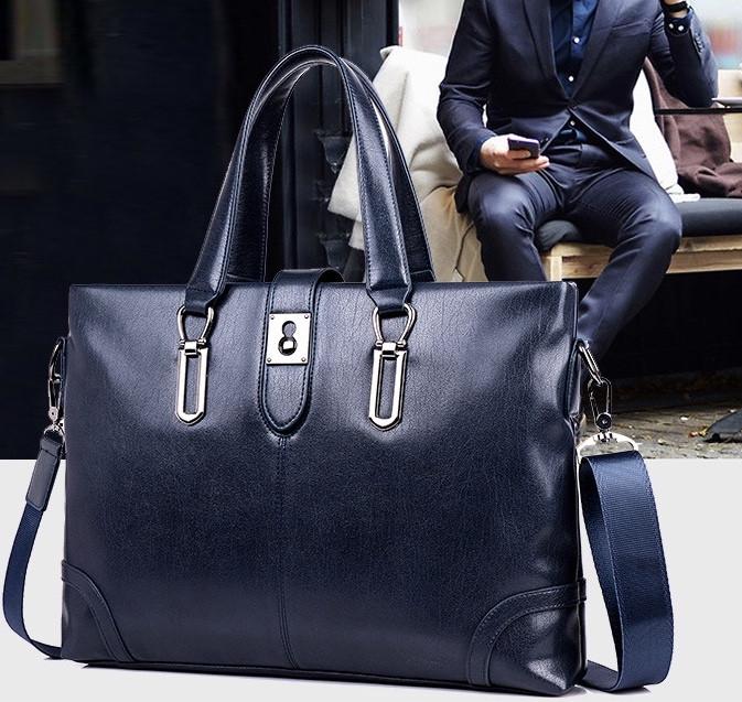 Мужская кожаная сумка. Модель 61286