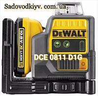 Лазер самовыравнивающийся зеленый DeWALT DCE0811D1G (Оригинал)