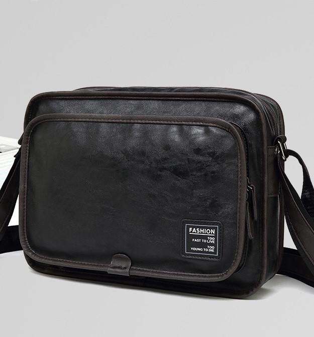 Мужская кожаная сумка. Модель 61287
