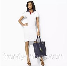 У стилі Ральф лорен жіноче плаття 100% бавовна ралф лорен поло