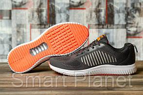 Кроссовки мужские 16462, Yike Running, темно-серые, < 44 > р. 44-28,8см.