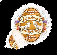 Сыр козий c грецким орехом и инжиром Landana Goat Cheese Walnut & Fig 50%