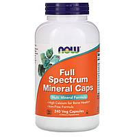 Препарат для повышения работоспособности NOW Foods Full Spectrum Minerals (240 капс)