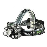 Налобный фонарь X-Balog BL-T78-T6 мощный фонарик, фото 1