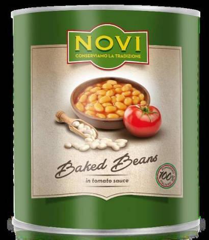 Варена квасоля в томатному соусі 400 г, фото 2
