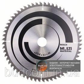 Пильный диск Bosch Multi Material 254 мм 60 зубов