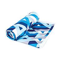Охлаждающее пляжное/спортивное полотенце Spokey Menorca 100х180 (original), для спортзала, быстросохнущее