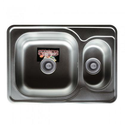 Мойка из нержавеющей стали 08мм Platinum 7050D сатин